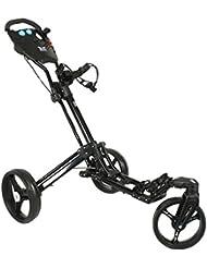 Yorrx Golftrolley SL Pro 7 HAMMA Plus, Golfwagen mit innovativem 360° Spin Vorderrad (frei 360° gelagert), Aktion: inkl. Regenschirmhalter & Tees