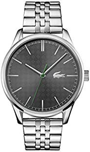 Lacoste Men's Grey Dial Stainless Steel Watch - 201