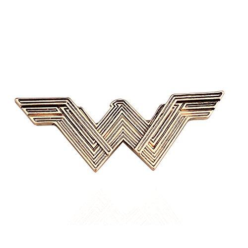 Patch Nation Wonder Woman Goldene Brosche Anstecker