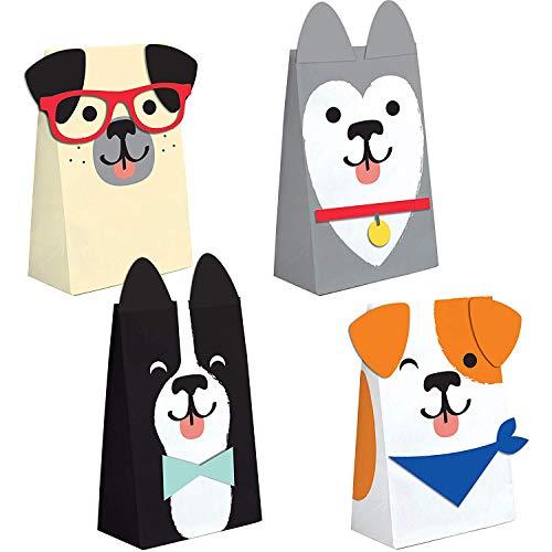 Neu: 8 Partytüten aus Papier * Hunde * für eine Mottoparty rund um Haustiere | Geschenktüten Tüten Mitgebsel Kinder Geburtstag Kindergeburtstag Motto Party Jack Russell Terrier