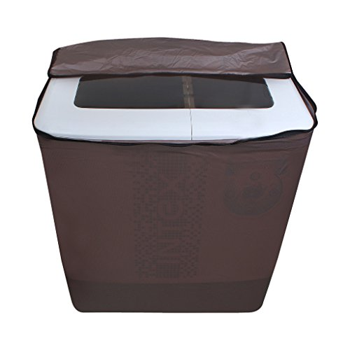 Lithara Golden Waterproof & Dustproof washing Machine Cover For panasonic Semi Automatic Top Load -All size model  available at amazon for Rs.359