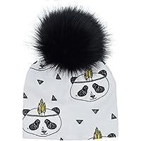 Moresave Sombrero de los niños del bebé del casquillo del sombrero del invierno del patrón de la impresión del casquillo del sombrero infantil regalos