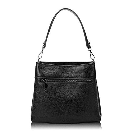 Damen Umhängetasche Handtasche Leder Handtasche PU Eimer Tasche Handtasche Leder Handtasche A