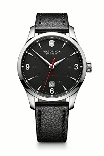 Victorinox Swiss Army Herren-Armbanduhr Analog Automatik Leder 241668 (Swiss Watch Army Herren)