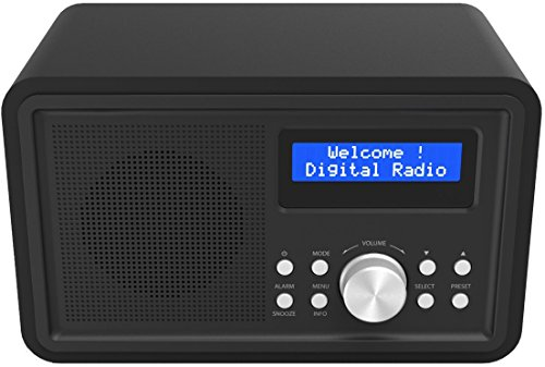 Denver DAB-35 DAB+ Digital Radio ( LCD Display) schwarz