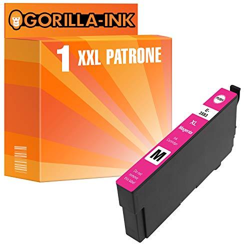 epson nachfuellpatronen Gorilla Ink 1 Patrone XXL GI3583 GI3593 GI35XL Magenta für Epson Workforce Pro WF4725DWF WF4725DWF WF4730DTWF WF4735DTWF WF4740DTWF