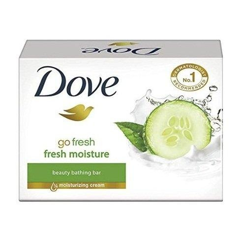 Dove Fresh Moisture Soap (75G) (Pack Of 3)