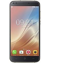 """DOOGEE X30 - 3G Smartphone Libre (Android 7.0, 5.5"""" HD Pantalla, Resolución 1280 x 720, MTK6580 1.3GHz Quad Core, 2Gb Ram 16GB ROM, 4 Cámaras, Dual Sim, 3360mAh Batería, Inteligente Gesto)(Negro)"""