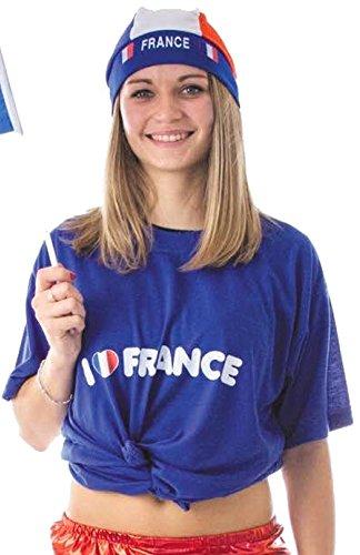 Kostüm Hooligans Fußball - Party Pro 333114 T-Shirt Unisexe Adulte blau L