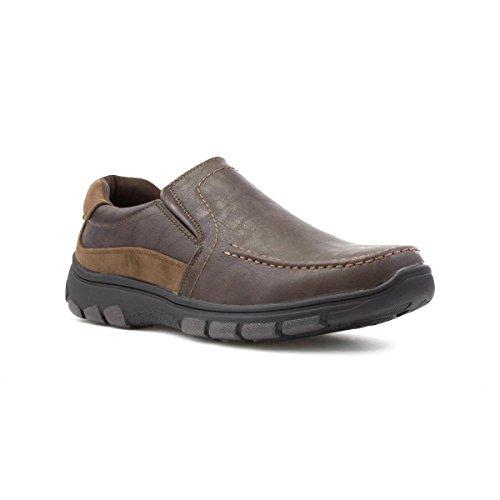 Cushion Walk Mens Brown Slip On Casual Shoe - Size 7 UK...