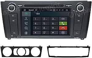 Android 7 1 Gps Dvd Usb Sd Bluetooth Autoradio Navi Kompatibel Mit Bmw Serie 1 Bmw E81 Bmw E82 Bmw E88 Navigation