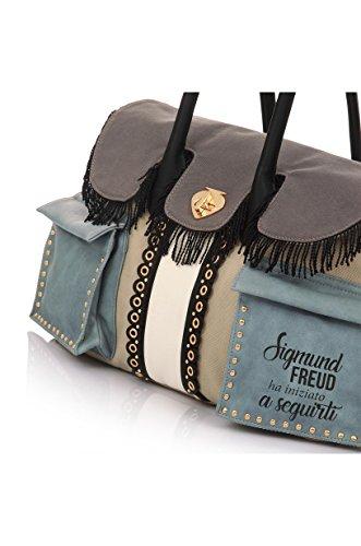 Le Pandorine IBIZA BAG Shopping Donna Beige