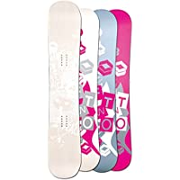 FTWO DAMEN FREESTYLE SNOWBOARD WHITEDECK WOOD 2017 ~ 152 CM ~ CAMBER