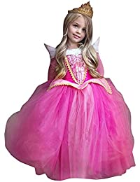Rawdah Vestito Abito per Bambino Ragazza Bambina Principessa Natale Partito  Compleanno Bambini Vestito Carnevale Bambina Abiti dce19e7a779