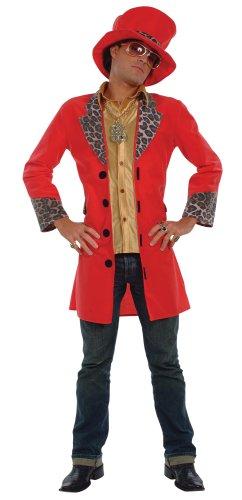 Imagen de cesar  disfraz de rapero big daddy para hombre adulto , talla 54/56 cm