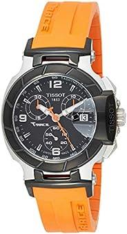 Tissot Womens Round Black Dial Silicone Bracelet Watch [T048.217.27.057.00]