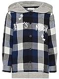 NAME IT Organic Jungen Holzfäller Hemd Langarm Shirt aus Bio Baumwolle 13157242 Snow White Gr.122