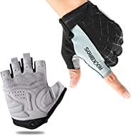 ROCK BROS Bike Gloves Cycling Gloves Half Finger Men Women Mountain Bike Gloves Bicycle Accessories Workout Gl