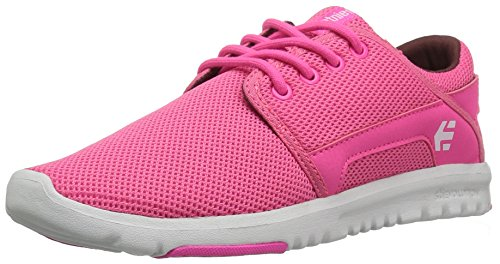 Etnies Womens Sneaker Scout Pink White Rosso (Pink/White/Pink)
