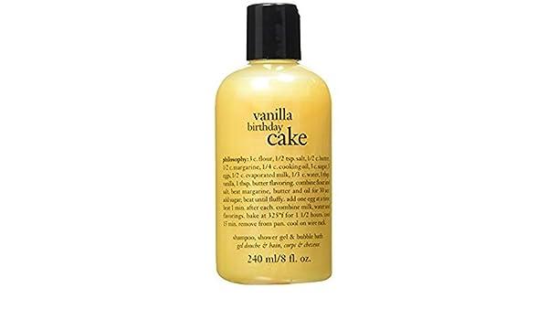 Marvelous Buy Philosophy Vanilla Birthday Cake Shampoo Shower Gel Bubble Funny Birthday Cards Online Ioscodamsfinfo