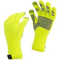 SealSkinz Waterproof Ultra Grip Hi Vis Outdoor Gloves