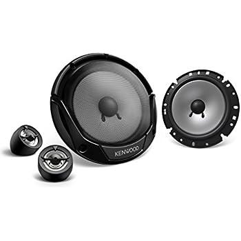 Pair Edge Audio ED306 6.5 165mm 240w 240 Watts Car Door Component Speakers Set