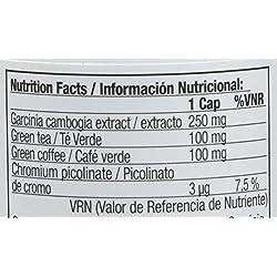 Quamtrax Nutrition Super Fat Burner, Suplemento para Adelgazamiento - 60 Cápsulas