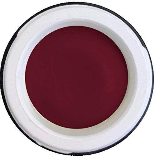 4D Plastilin Gels de Cyn 5 g : # 07 bordeaux - Dessiner des dreidimensionaler Nail Art (par exemple Pointe, roses, etc)