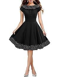 ee400e2ade12b Amazon.it  vestiti anni 50 - 40   Vestiti   Donna  Abbigliamento