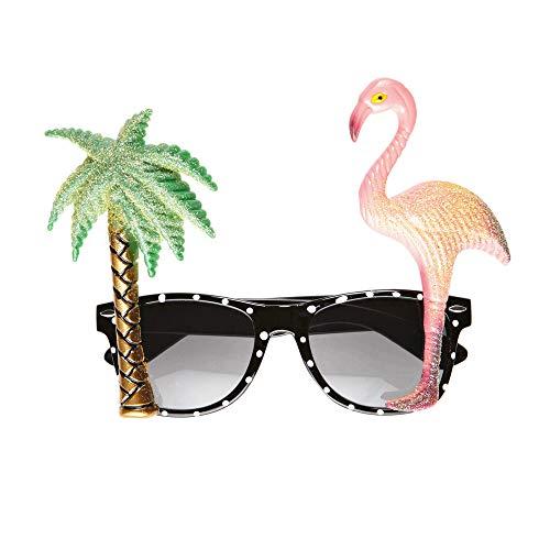 Motto Karibik Kostüm - Widmann - Brille Flamingo