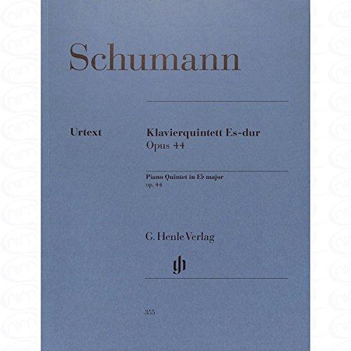 QUINTETT ES-DUR OP 44 - arrangiert für zwei Violinen - Viola - Violoncello - Klavier [Noten/Sheetmusic] Komponist : SCHUMANN ROBERT