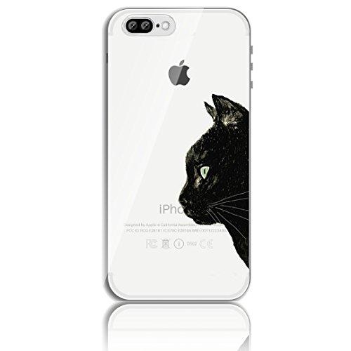 iPhone 7 Plus Silikon Hülle,iPhone 8 Plus Hülle,Sunroyal TPU Case Schutzhülle Silikon Crystal Kirstall Clear Case Durchsichtig,Basketball Shoot Malerei Muster Transparent Weichem Silikon Schutzhülle H Pattern 2