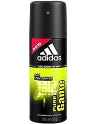 Adidas Pure Game Deodorant Body Spray, 150ml