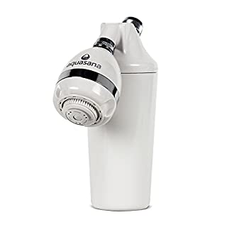 Aquasana Shower Filter Unit Water Filter AQ4100 - Removes up to 91% of Chlorine & Chloramines - Easy Installation