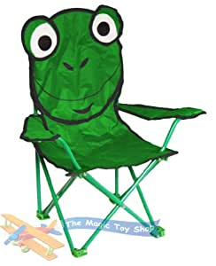 Stauraum, für Camping, faltbar, Frosch, grün