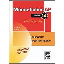 Mémo-fiches AP - Modules 1 à 8: Auxiliaire de puériculture