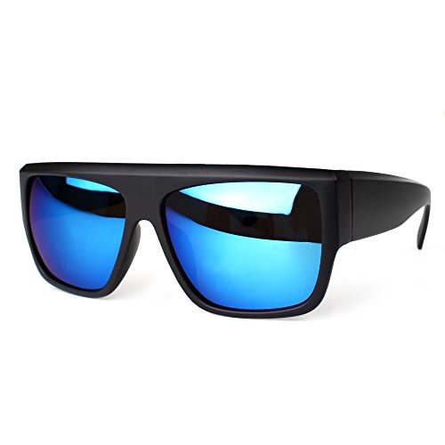 DISTRESSED Retrofuture Sonnenbrille verspiegelt blau