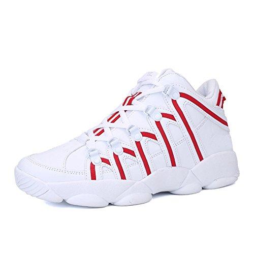 CHT Printemps Automne Hiver Des Hommes En Plein Air étudiants Sportifs De Loisirs Marée Chaussures De Course Taille Blanc Noir Rouge En Option Red