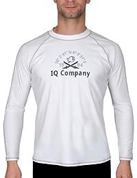 iQ-Company UV 300 T-Shirt Watersport LS 94 - Camiseta con manga larga de nautica para hombre, color blanco