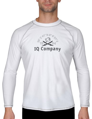iQ UV 300 T-Shirt Watersport LS 94, White (2100), Gr. M