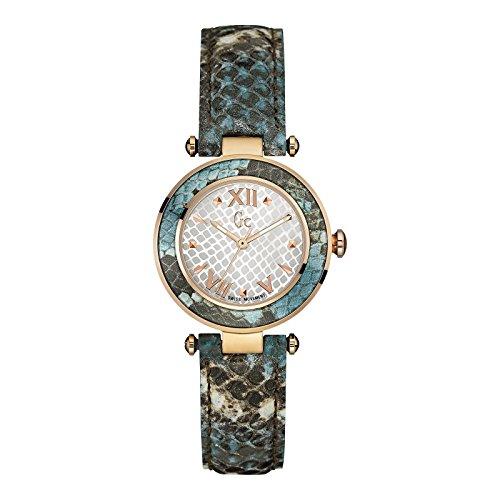 Guess Collection Femme 32MM Bracelet Cuir Multicolore Quartz Montre Y10002L1