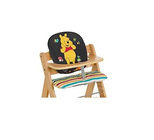 Hauck Alpha pad basic Tidy Time Hochstuhlauflage, bunt, Disneymotiv, buntgestreite Sitzauflage