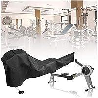 ELR Cubierta para máquina de remo, cubierta protectora para equipos de fitness y cubierta de tela impermeable a prueba de polvo para uso en interiores y exteriores