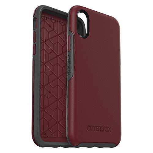 OtterBox 77-59575 Custodia Serie Symmetry Protezione Sottile e Minimalista per iPhone X/Xs, Bordeaux