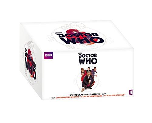 COFFRET 2017 l'intégrale DOCTEUR WHO SAISONS 1 à 9 + 2 épisodes spéciaux + en bonus : les secrets du docteur enfin révélés !, DVD/BluRay