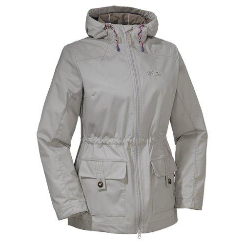Jack Wolfskin Damen Mantel Robertson Coat Women, Humid Sand, L, 1302521-6035004