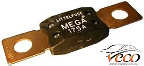 Mega fusible 12V 24V 32V 175Amp Heavy Duty en cuivre Bolt Down 192052