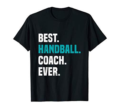 Bester Handball Trainer   Lustiges Handball Spieler T-Shirt