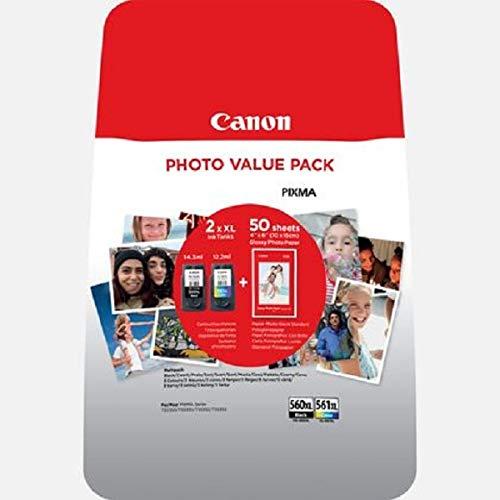 Canon PG-560 XL/CL-561 XL Photo Value Pack PP-201 10x15