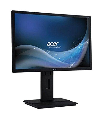Acer B196Lymdr 48 cm (19 Zoll) Monitor (VGA, DVI, 5 ms Reaktionszeit) dunkelgrau